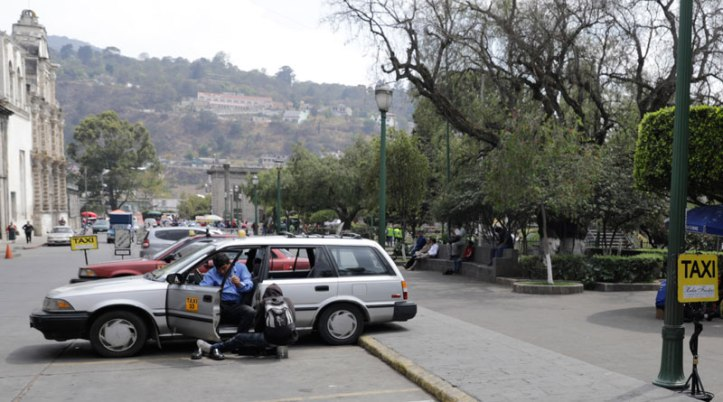 Taxistas-en-xela