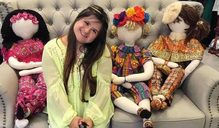 Isabella Springmuhl, compartirá con todas las participantes como empezó a realizar diseños en sus muñecas